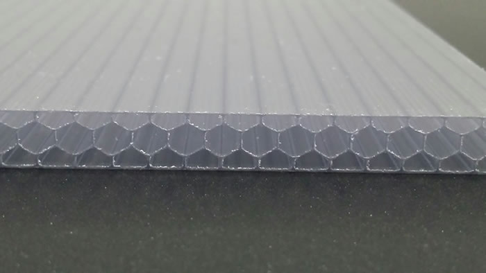 Custom garage door panel material polycarbonate
