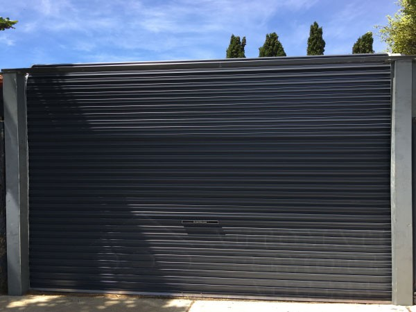 Attrayant A Series Monument Free Standing Rolling Garage Door