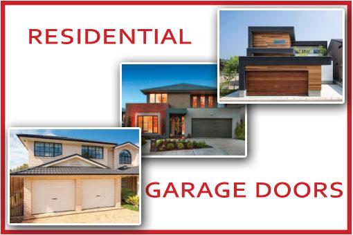 Residential Garage Doors Melbourne