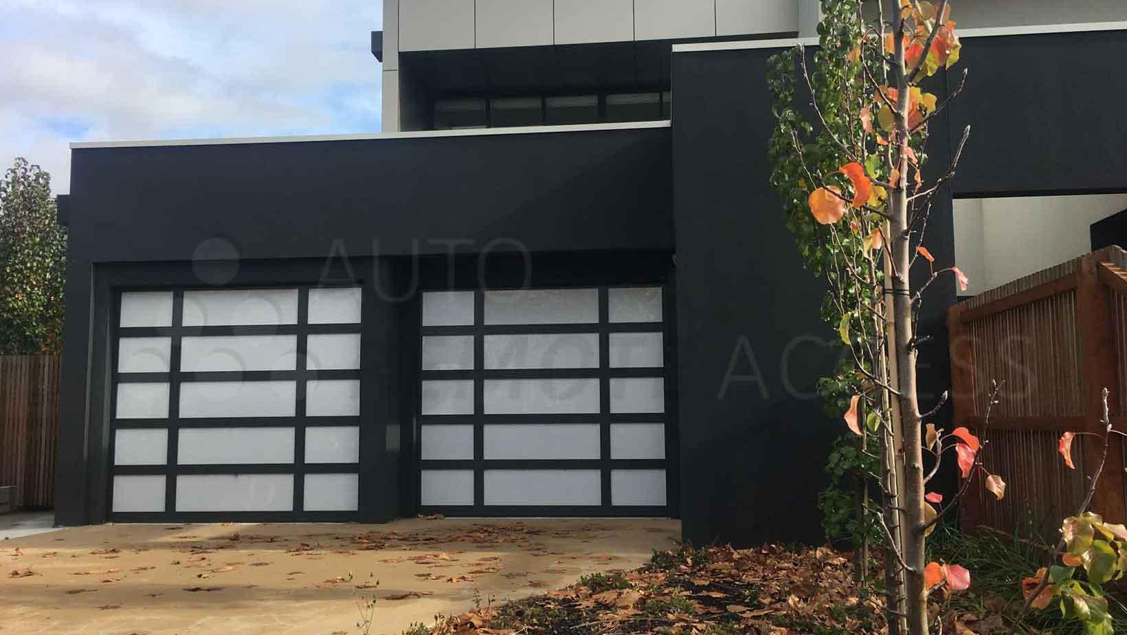 Garage Panel Door Custom Design - Eden Style
