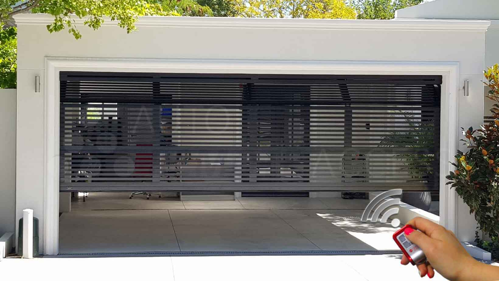 Remote control garage door opener installation Araccess
