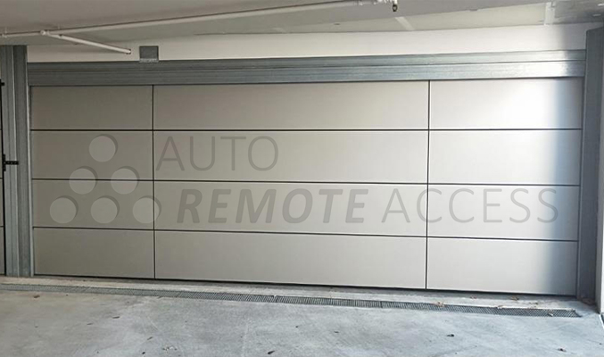 custom Alucobond garage doors