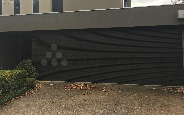 custom made aluminum garage door